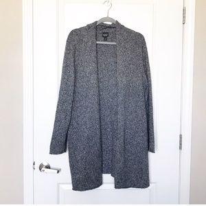 EILEEN FISHER •100% Silk Open Front Cardigan Sz XL